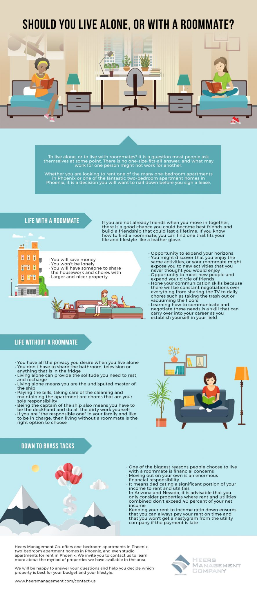 Should You Live Alone, or With a Roommate_