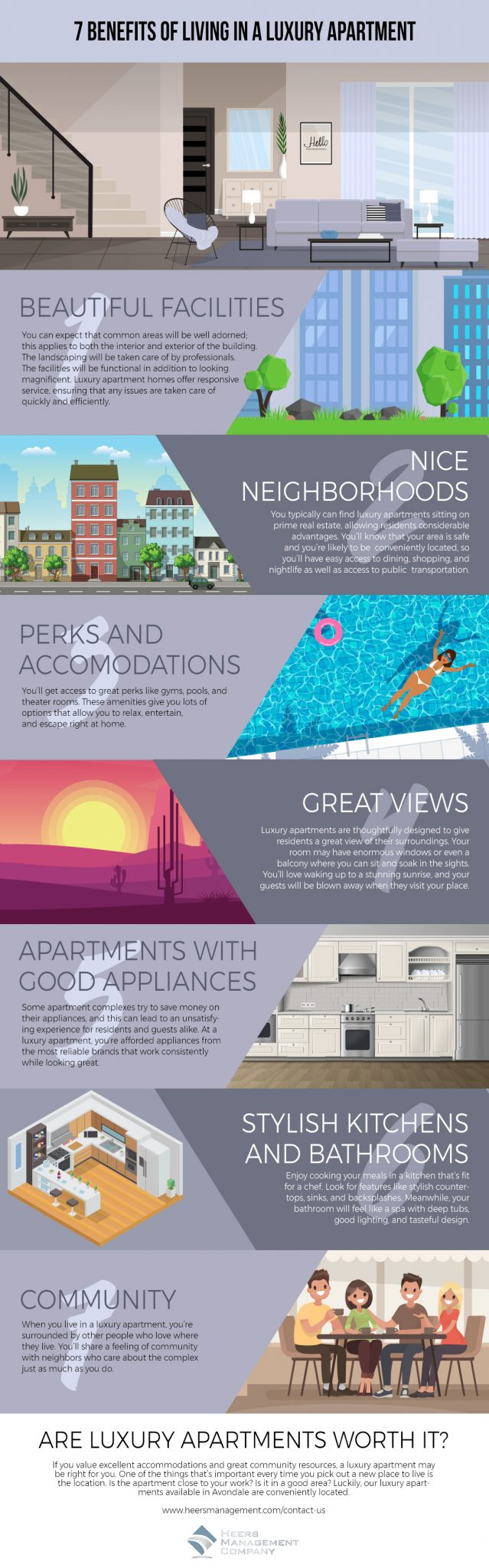 7 Benefits of Living in a Luxury Apartment