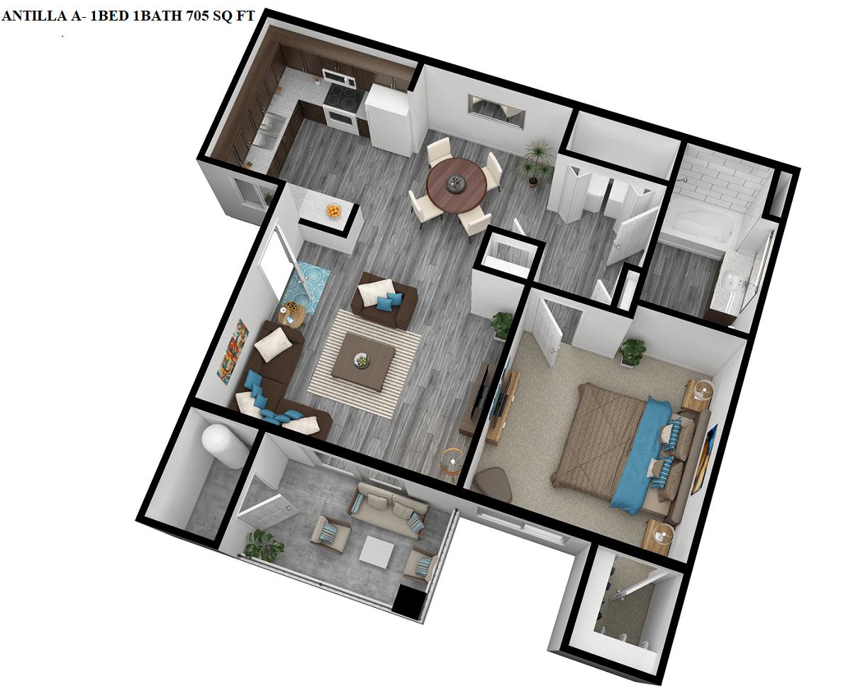 Antilla Floor Plan