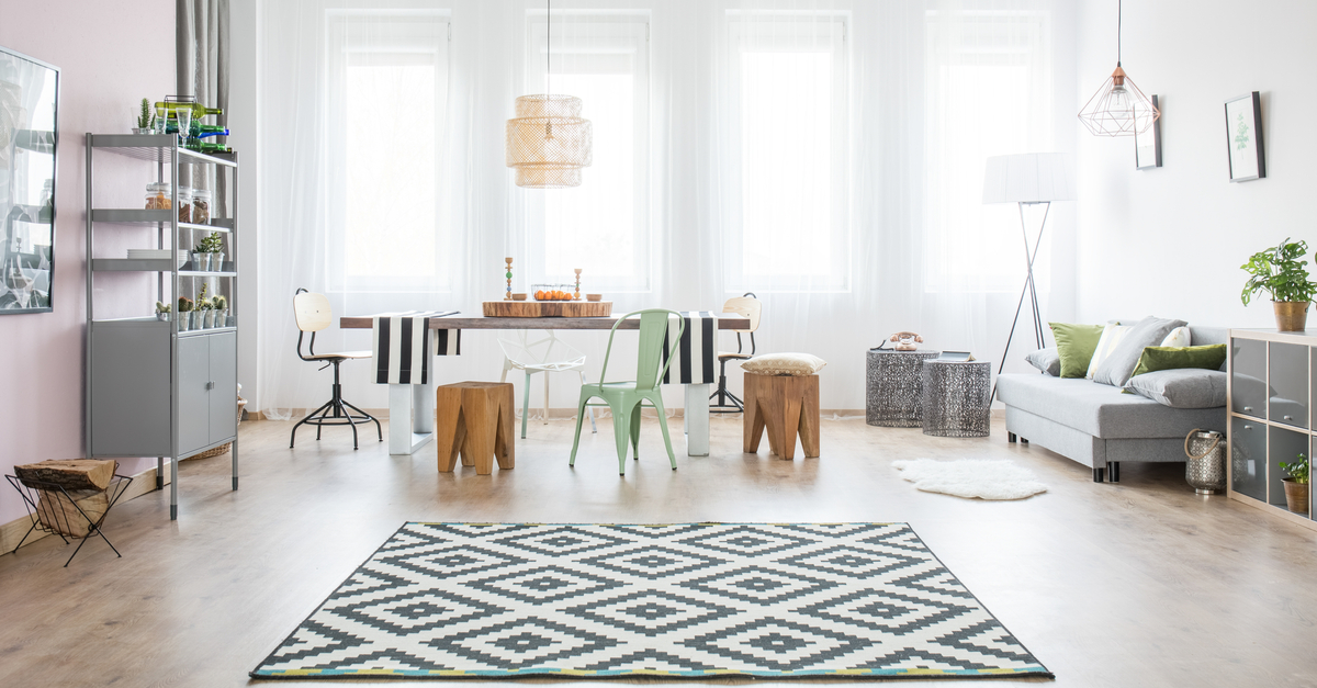 How To Choose The Best Rug Size For Each Room In Your Apartment