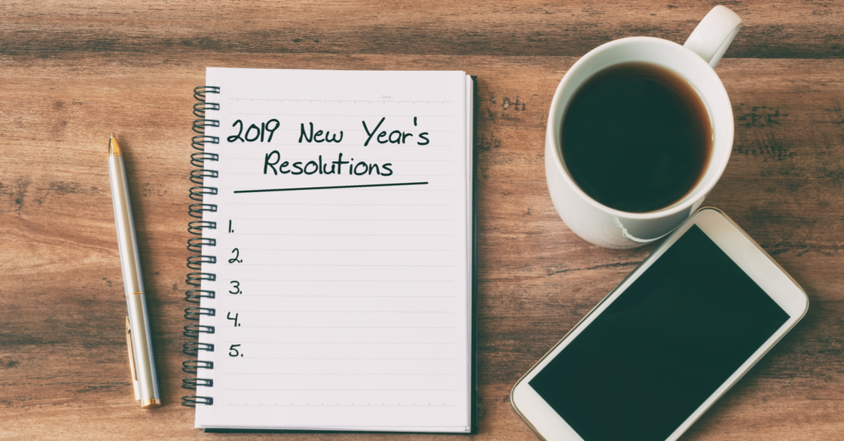 2019 new years resolutions