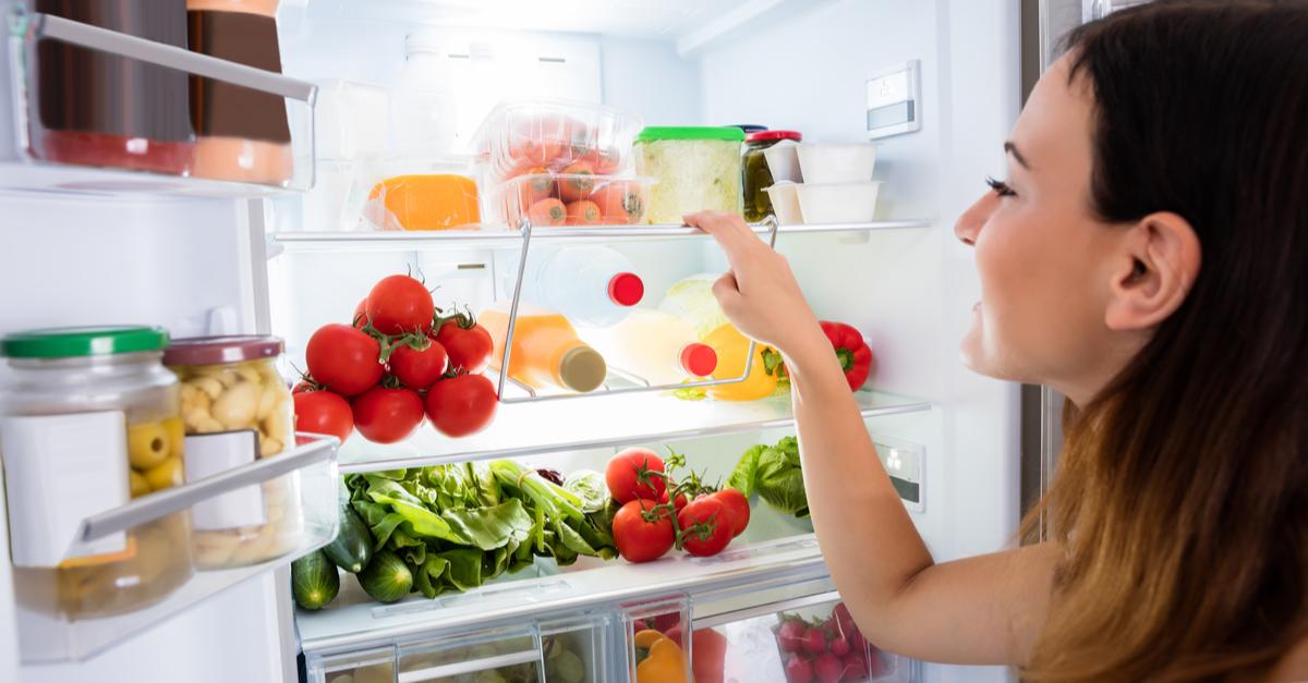 sharing a fridge